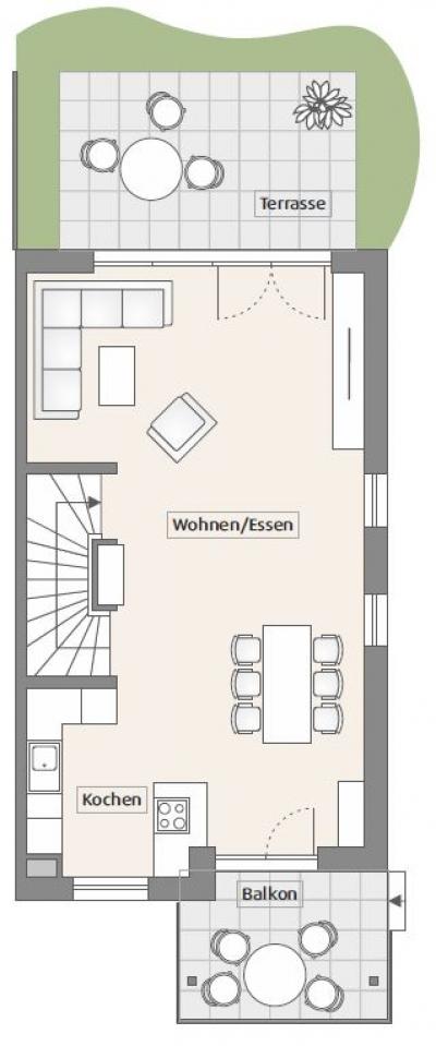 Objekt Doppelhaushälfte im Kaiserstuhl