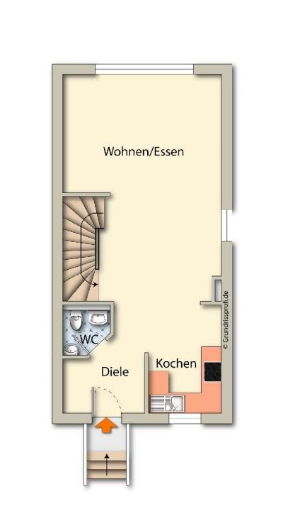 Objekt Reihenendhaus mit großer Wohnfläche und Wohlfühlcharakter