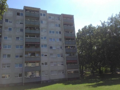 Objekt Vermietete 2-Zimmer-Wohnung in FR-Landwasser mit drei Garagen !!!