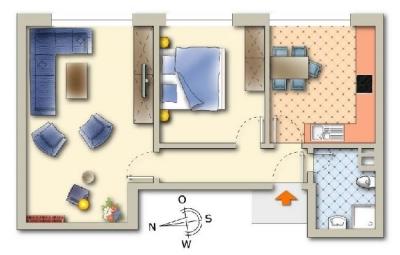 Objekt Sanierte 2-Zimmer-Eigentumswohnung in der Wiehre II