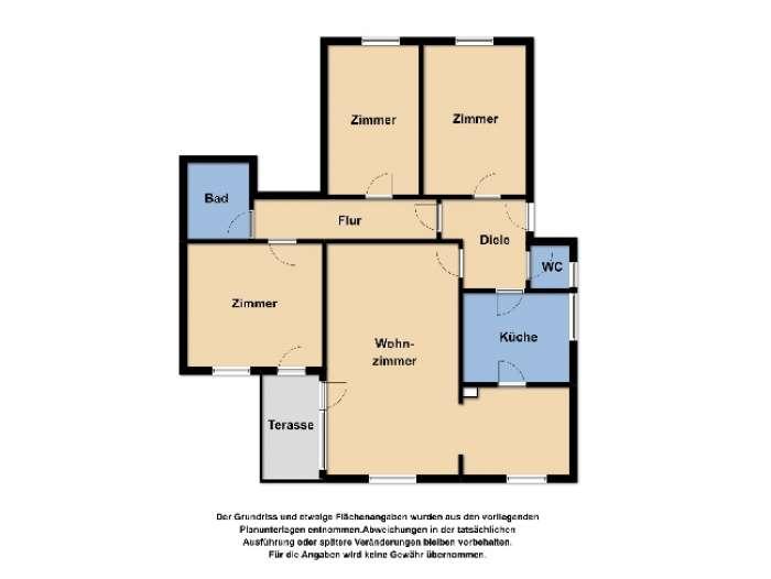 Objekt Solide Kapitalanlage - 4-Zimmer-Wohnung am