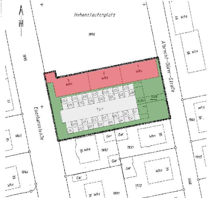 Objekt Zentrale Stadtlage - Hohenstaufenplatz 2 - kurzfristig beziehbare 3-Zimmer-Wohnung !!
