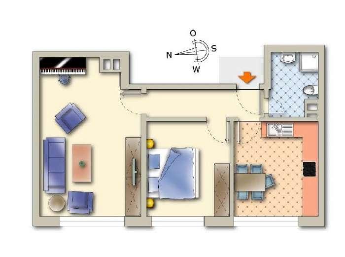 Objekt Top sanierte 2-Zimmer-Eigentumswohnung in der Wiehre I
